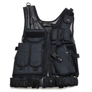 Military/Tactical/Paintball Adjustable Mesh Vest